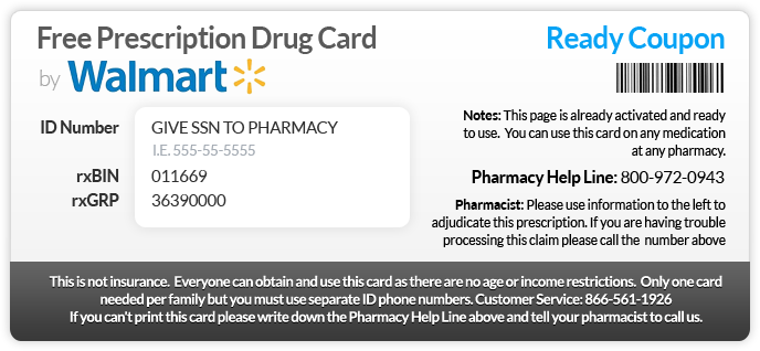 More Pharmacy Coupons We've Found For You: